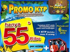 Promo Jungle Waterpark Bogor harga spesial tiket masuk hanya Rp 55.000 Cukup dengan menunjukkan KTP Jabodetabek, Periode hingga 6 November 2016.