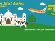 Promo Diskon tiket pesawat Rp 100.000 dari Padiciti dalam rangka Idul Adha.