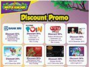 Promo berbagai merchant di Water Kingdom Mekarsari diskon tiket masuk hingga 35%.