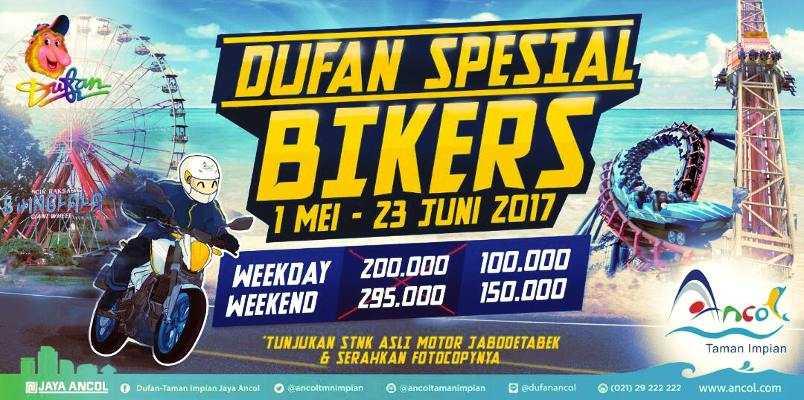 Promo Biker Dufan Harga Tiket Hanya Rp 100 000 Travels Promo