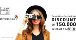 Nikmati Diskon Hotel dan Tiket Pesawat dengan Kartu Kredit dan Debit Permata di Panorama Tours