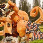 wahana sea monster