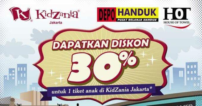 Promo Kidzania Jakarta