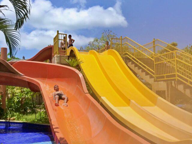 wahana seluncur new kuta green park