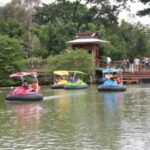 perahu juga tersedia di Eco Green Park