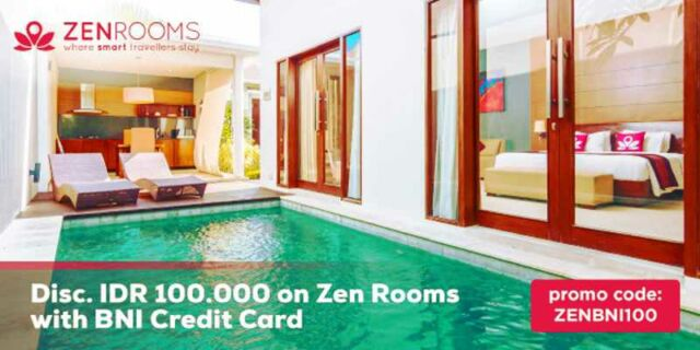 Promo Hotel Zenroom Kartu Kredit BNI