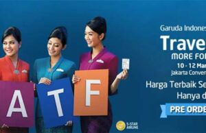 Garuda Indonesia Trave Fair GATF