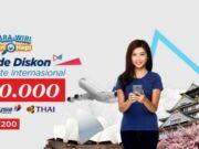 Promo Malaysia Airlines dan Thai Airways diskon Rp 200.000 di tiket.com