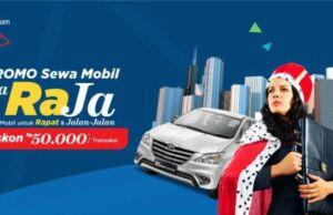 Promo sewa mobil di tiket.com dapatkan diskon RP 50.000