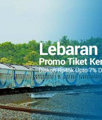 Promo Tiket Kereta Lebaran