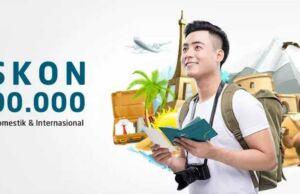 Promo tiket pesawat kartu kredit BNI panorama tours diskon hingga Rp 200.000