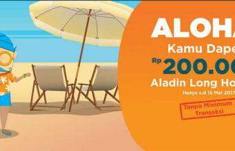 Kode Promo Mister Aladin Diskon hotel sampai dengan RP 200.000