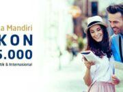 Promo Kartu Kredit Mandiri Panorama JTB diskon tiket pesawat, tiket kereta dan hotel
