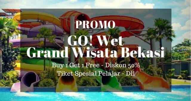 Promo Go Wet Grand Wisata Bekasi