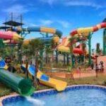 Wahana Peluncuran Spiral Transera Waterpark