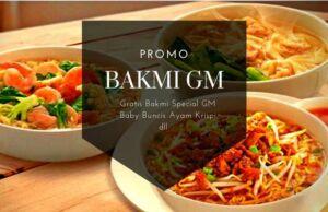 Promo Bakmi GM
