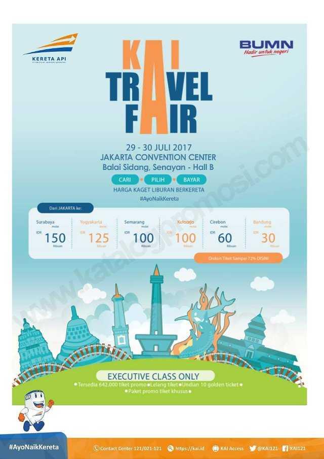 Kai Travel Fair Promo Tiket Kereta Api Diskon 72 Travels