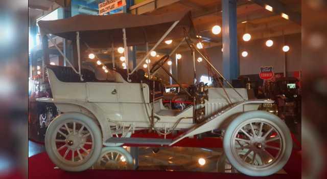 Salah satu mobil kuno