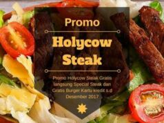 Promo Holycow Steak