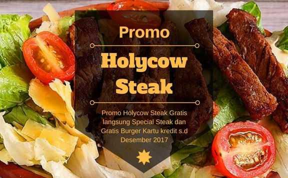 Promo Holycow Steak Kartu Kredit Diskon 15 Travelspromo