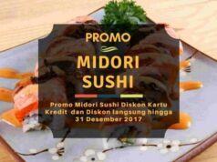 Promo Midori Sushi