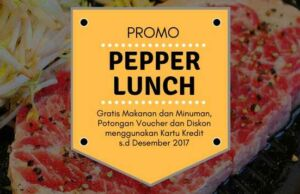 Promo Pepper Lunch