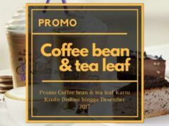 Promo Coffee Bean & tea leaf