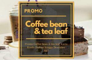 Promo Coffee Bean & tea leaf