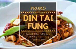 Promo DIN TAI FUNG