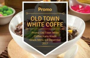 Promo Old Town White Coffee