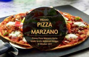 Promo Pizza Marzano