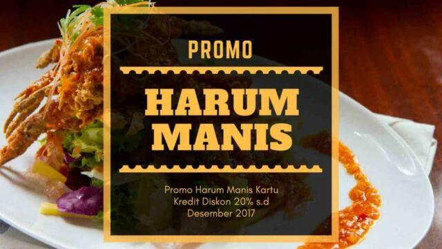 Promo Harum Manis
