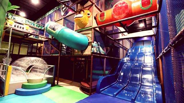 Wahana Jungle Gym WowZania