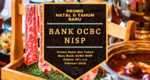 Promo Natal dan Tahun Baru Bank OCBC NISP