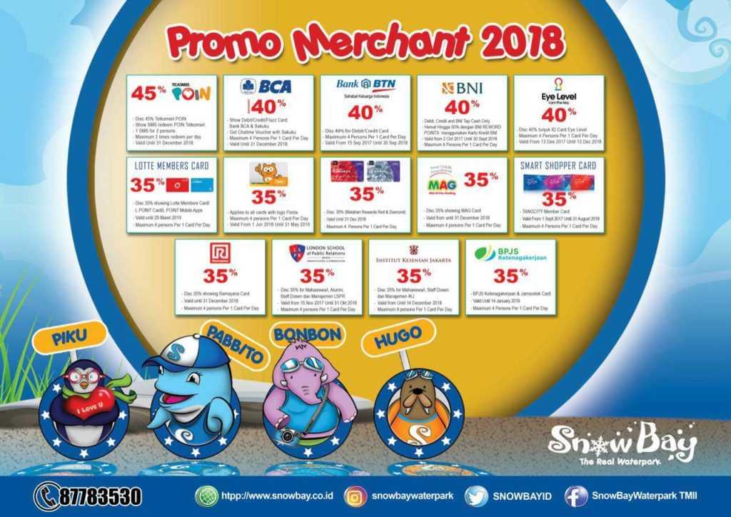 Promo Snowbay Waterpark Diskon 35 S D September 2019 Travels Promo