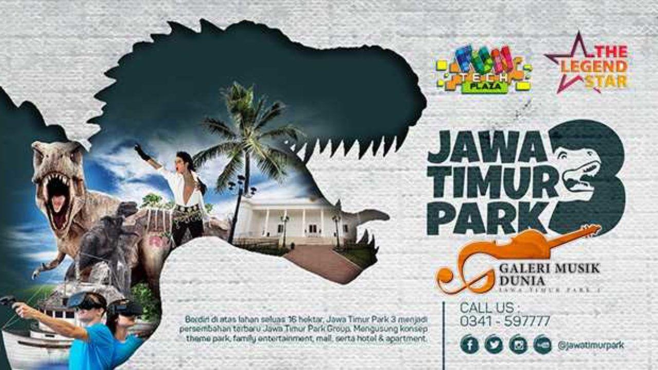 Jatim Park 3 Tiket Wahana Agustus 2019 Travelspromo
