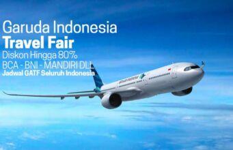 Jadwal Garuda Travel Fair