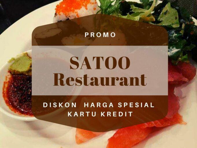 promo satoo restaurant