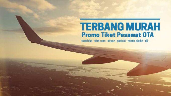 Promo tiket pesawat OTA