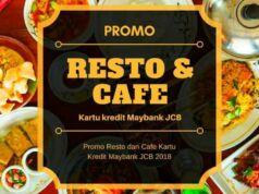 Promo Resto dan Cafe