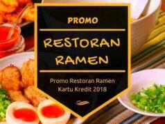 Promo Restoran Ramen