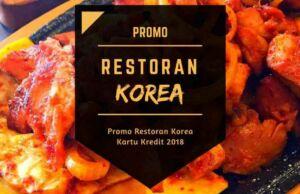 Promo Restoran Korea