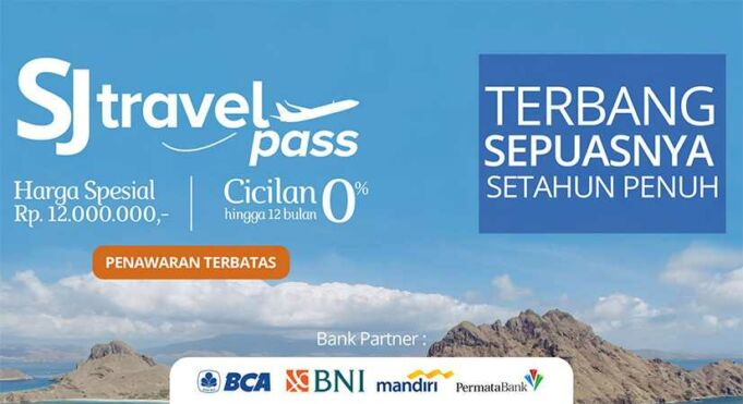 Sriwijaya Pass SJ Travel Pass