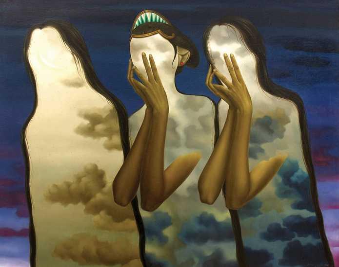 Lukisan Meraba Diri Galeri Nasional Indonesia