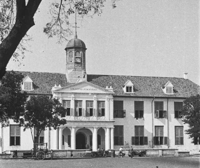 Bangunan tempo dulu Museum Sejarah Jakarta