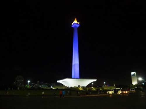 Wisata Malam Monas - Monumen Nasional