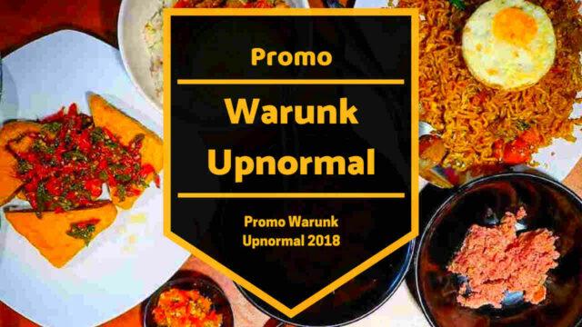 Promo Warunk Upnormal