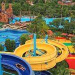 Dengan harga tiket Ocean Park BSD yang cukup terjangkau sudah bisa bermain di wahana Water Slide Tower