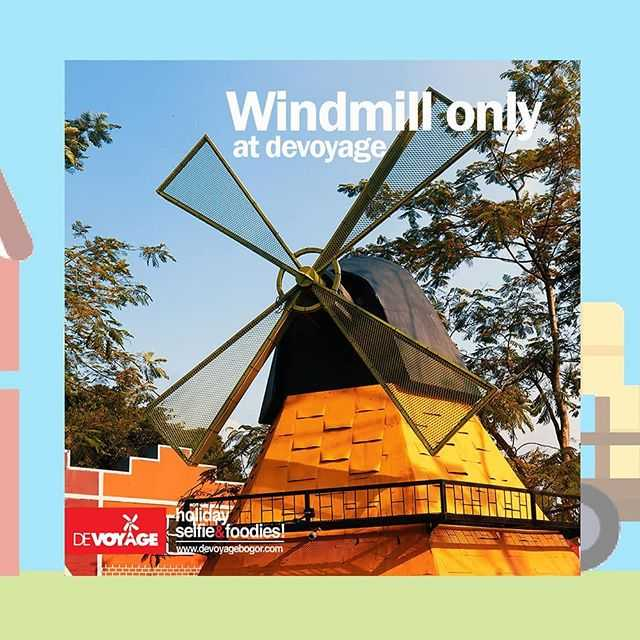 miniatur kincir angin