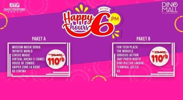 Promo Jatim Park 3 Happy Hours